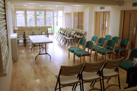 seating in Ty Price Main Hall