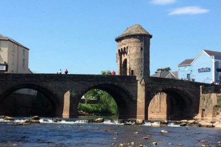 Monnow Bridge by young photographer winner